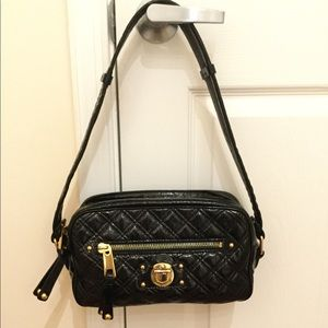 Marc Jacobs Black Patent Leather Bag